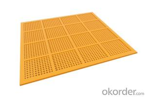 Wear resistance polyurethane sieve plate