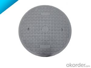 Ductile Iron Manhole Covers D400 for Mining and construction with Frames of High Quality in Hebei