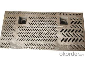 Metallurgy industry casting sieve plate for sale