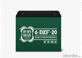 DZF SERIES VRLA GEL BATTERY FOR ELECTRIC BIKE