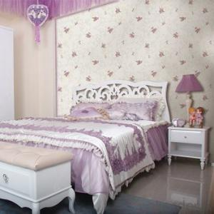New Arrival Floral Design  Wallpaper and Nice Damask pvc Wallpaper Decor