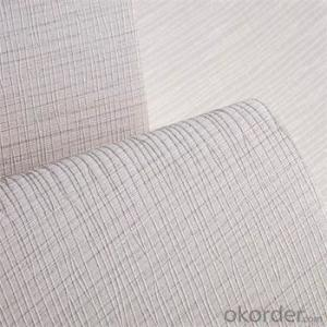 Room Interior Elegant Decoration Wallpaper Non-Woven 3D Striated Wallpaper