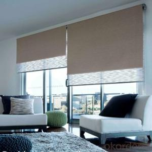 Motorized External Venetian Blinds with Wide Wooden Blind Images