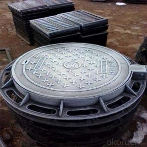 Ductile Iron Manhole Cover with Customized Sizes OEM Service