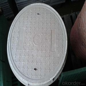 Industry Used Ductile Iron Manhole Cover with Different Designs and Colors