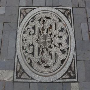 Ductile Iron Manhole Cover of Different Designs and Colors