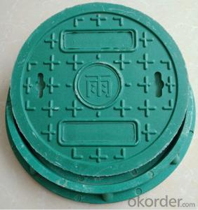 Casted Ductile Iron Manhole Covers CNBM for Mining and construction with Frames