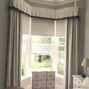 Lace Roman Lowes Motorized Blinds and Shades