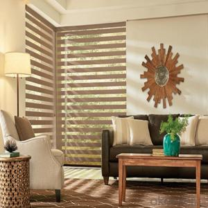 Wood Vertical Outdoor Clear Roller Blinds