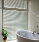 Silver Skylight Roller Horizontal Blinds