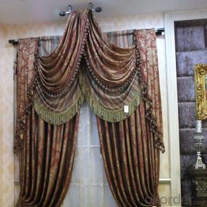 curtain with American style woven grommet custom for office window