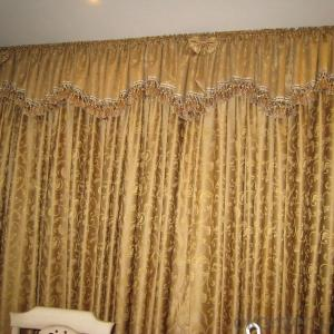 Custom curtain for living room burgundy wholesale stock