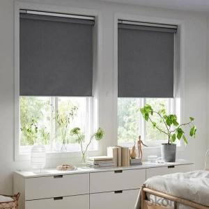 curtain with new decorative pvc strip for window