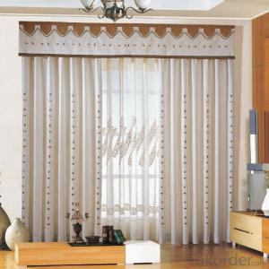 polyester curtains for the living rooms