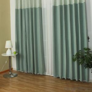 Manual curtains Jacquard zebra for house