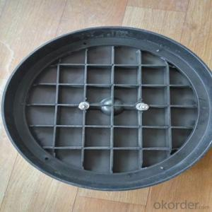 Epoxy Coating Ductile Iron Manhole Cover for Industry and Mining