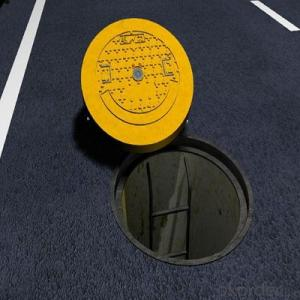 Construction and Mining Used Ductile Iron Manhole Cover