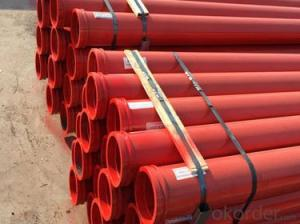ST52 Concrete Pump Deck Pipe /Hardened Twin Wall Delivery Pipe