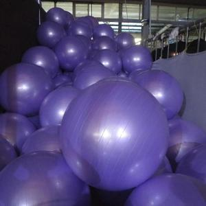 Gray PVC 65CM GYM Yoga Exercise Ball to Shape Body
