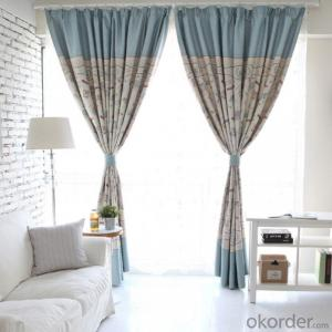 Modern Style Curtains For Manufactured Hotel Home Used