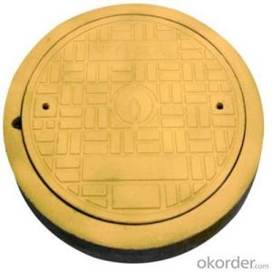 Casting Iron Manhole Cover with Square or Round EN124