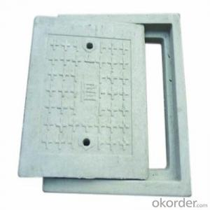OEM Service Ductile and Casting Iron Manhole Cover EN124