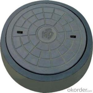 B125 C250 Ductile Iron Manhole Cover with OEM Service for Mining