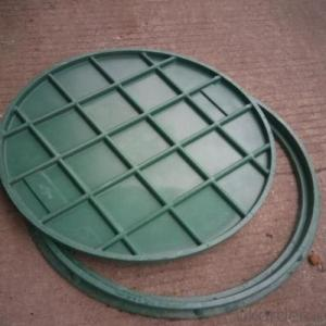 Casting Ductile Iron Manhole Cover C250 B125 D400 with New Style