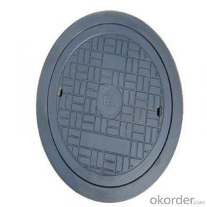 OEM Ductile Iron Manhole Covers for Construction with Frames D400