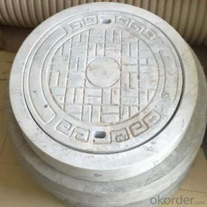 Mining and Industry Used Ductile Iron Manhole Cover EN124 D400