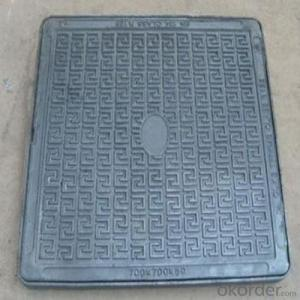 Construction and Industry Used Ductile Iron Manhole Cover C250