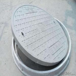 Ductile Casting Iron Manhole Cover EN124 in Hebei D400