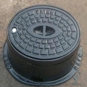 Ductile Iron Manhole Cover with Kinds of Designs B125