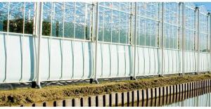 Fire Treated Fabric with UV Protection for Horticulture Industry Use