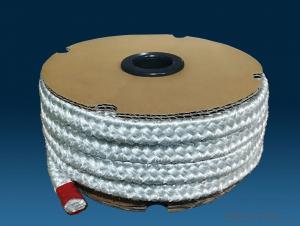high temperature resistance fiberglass braided rope