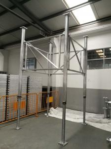 Germany Standard GASS Aluminum Shoring  System ledger frames located at any position along the leg