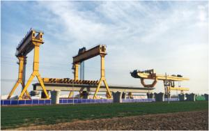900T Launching Gantry for Railway Bridge