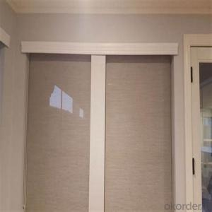 China Blackout and Transparent Roller Blinds