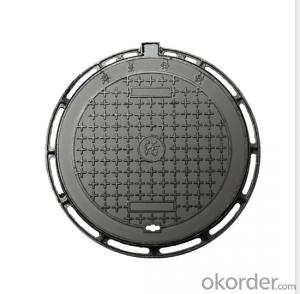 OEM ductile iron manhole covers with superior quality in China of competitive prices