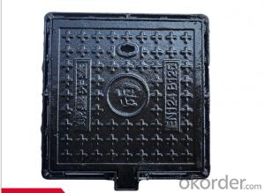 OEM ductile iron manhole covers with superior quality manufactured in Hebei