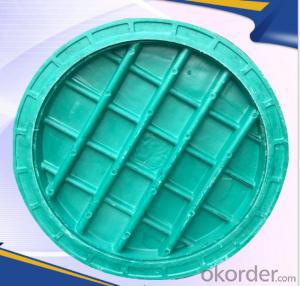 Casting Iron Manhole Cover For Construction with OEM Service from Handan