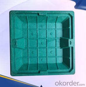 Ductile Casting Iron Manhole Cover from Handan D400 B125