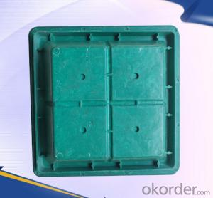 Casting ductile iron manhole covers for mining made in Hebei