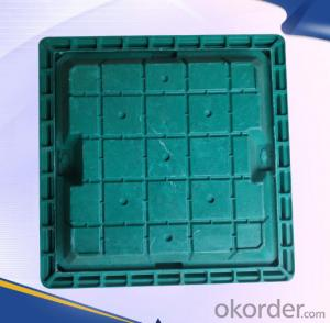 Casting Ductile Iron Manhole Covers C250 for Mining with Frames Made in Hebei Province