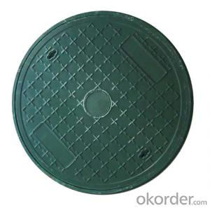 Casting Ductile Iron Manhole Covers C250 and D400 for Mining with Frames of good quality