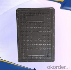 EN 214 ductile iron manhole covers with superior quality in China