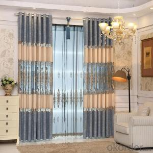 curtains with modern fashion soft ceramic flower crystal  for home decoration