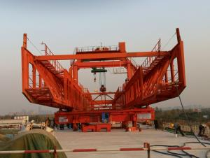 CNBM 900T, 35M span Pre-casted segmental assembly Launching Gantry/ Bridge girder erection machine