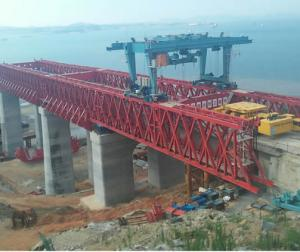 Segment Bridge Construction Launching Gantry Crane 1000 Ton  CNBM