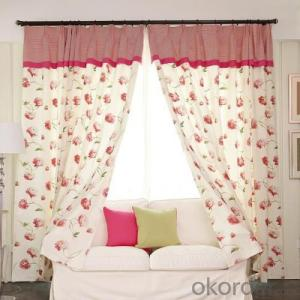 curtains with 40 different colors selected